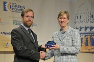 EPA presents AU with energy award