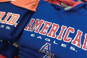 Photo: AU Eagles gear