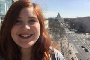 Emily Martin at the Newseum