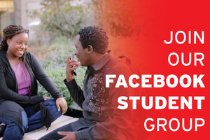 Join the new students Facebook group