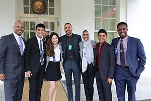 FDDS scholars pose outside