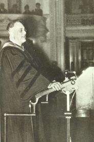 FDR at Chancellor Gray's Inauguration