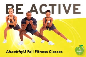 AhealthyU Fall Fitness Classes