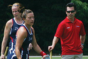 Photo: Steve Jennings is an assistant coach for the U.S. Women's Field Hockey National Team.