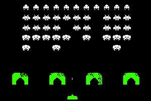 Screenshot of Space Invasion video game