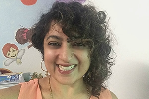 Headshot of Geeta Raj.