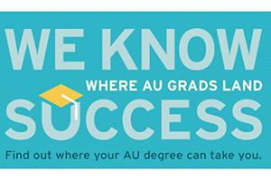 WE KNOW SUCCESS: Where AU Grads Land