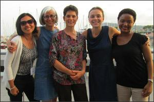 PGAE faculty/students at International Association for Feminist Economics meeting, Barcelona, July 2012.