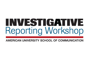 Investigative Reporting Workshop American University School of Communication logo