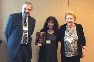 Professor Robin Broad received the J. Ann Tickner award at the ISA 2016 annual convention.