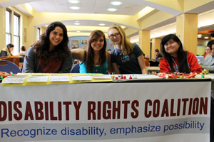The Disability Rights Coalition celebrates International Day of Persons with Disabilities on campus.