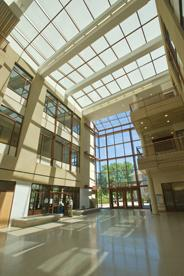 The Atrium of the SIS Building