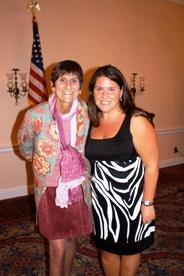 Congresswoman Rosa DeLauro and Jennifer Lawless