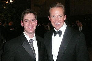 SOC Jeremy Borden and CBS News Anchor Chris Wragge