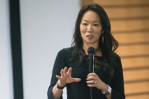 Academy Award Winner Jessica Yu came to AU to teach and screen her film Last Call at the Oasis.