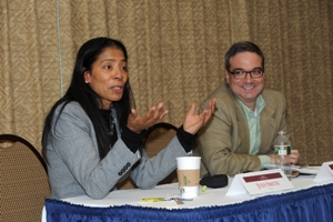 Judy Smith speaks to WCL students