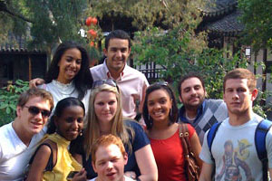 Kogod students blog from their trip to China