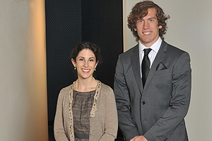 Lauren Barr and Matt Makowski were named 2011 Finalists for the Rhodes Scholarship.