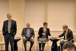 Left to right: Dan Fiorino, Jim Jones, Amy Duvall, and Richard Denison