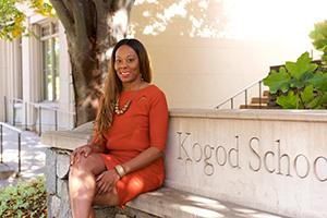 London McCloud at the Kogod School of Business