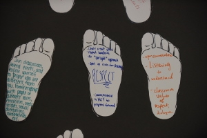 SIS Diversity Exploring Identities Action Feet