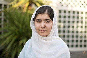 Human rights advocate Malala Yousafzai will speak in Bender Arena on September 25.