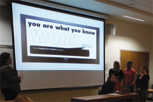 Photo: Students in Sonya Grier's marketing class