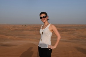 JD/MBA student Kiki McArthur on her global consulting trip in the UAE.