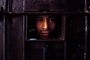 Photo of incarcerated Guatemalan gang member.