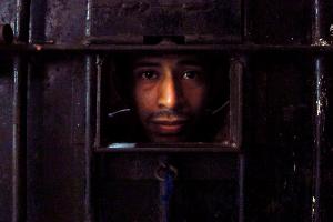 Photo of incarcerated Guatemalan gang member.