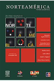 Cover of Norteamérica Journal 2-1