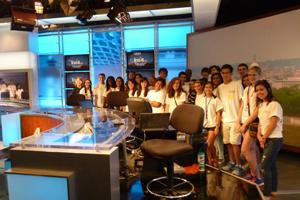 SOC NBC4 Welcome Week visit