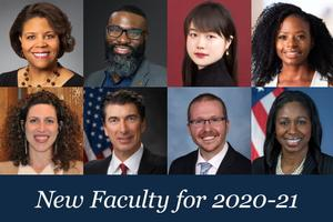 New Faculty for 2020-21