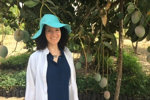 Noha Waibsnaider visits Peeled Snacks' mango farm in Mexico.