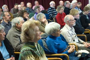 Attendees at an Osher Lifelong learning event