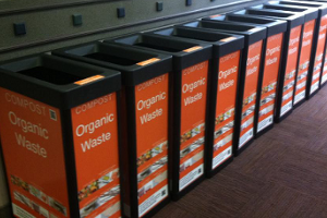 Organic waste collection bins