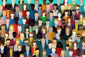 People no faces