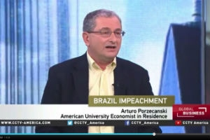 Dr. Porzecanski on an episode of CCTV on Apr 18