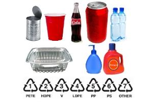 Glass, Metal, and Plastic Recycling