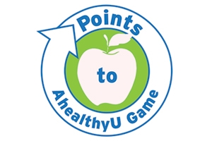Points to AhealthyU Game logo