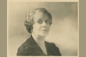 Portrait of Florence Price Later in Life Looking at the Camera