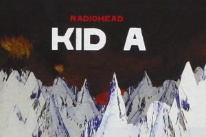 cover of CD album Kid A by Radiohead