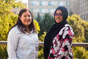 Regina Curran and Fariha Quasem are the team at AU's Title IX office.