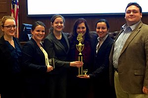AU Mock Trial Regionals Team A 2015