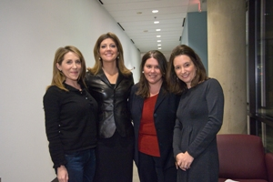 Jessica Yellin, Norah O'Donnell, Jennifer Lawless, and Anne Kornblut
