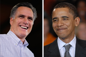 President Barack Obama and GOP candidate Mitt Romney have courted the youth vote this election season.