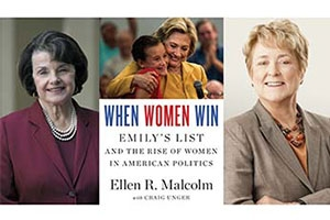 Sen. Dianne Feinstein and EMILY's List founder Ellen Malcolm
