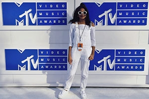Sydney Gore at the MTV VMAs