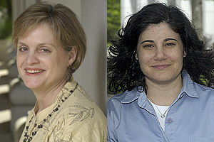 Professors Jocelyn Johnston (left) and Alison Jacknowitz (right).