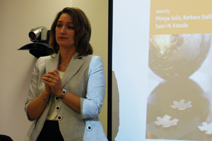 Professor Mireya Solis presents her book,